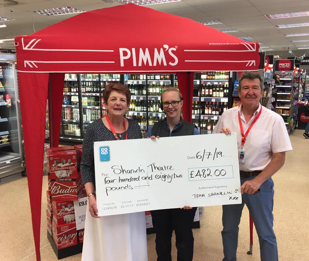 Shanklin Co-op Continues to Support the Theatre