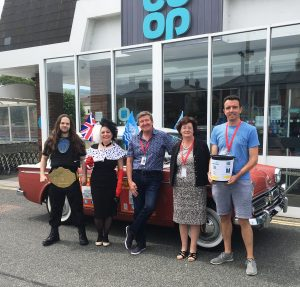 Shanklin's Shoppers Helping to Maintain Town's Theatre